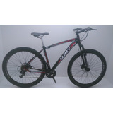 Bicicleta Mtb Aro 29 Wny Xl 24 Vel.cambio Shimano Preta/verm