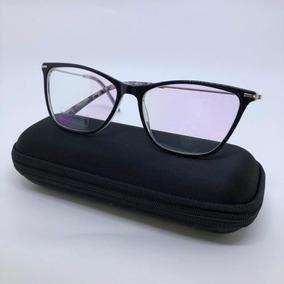 Óculos Para Grau Acetato Preto Armação Gatinho Modelo 2018. R  54 99 e696884fdf