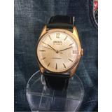 1ffee57c843 Relógio Ouro 18 K Plaquê Nivel Do Omega Automático Omodox