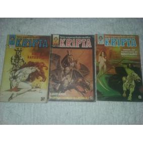 Kripta Lote 3 Revistas 34, 36, 37 Rge 1979