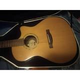 Fender Ga45scl Nat Electroacustica Con Hardcase Conversable