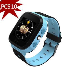 10 Pcs Reloj Inteligente Para Niños Niñas Rosa Azul Mayoreo c00bd6adaca7