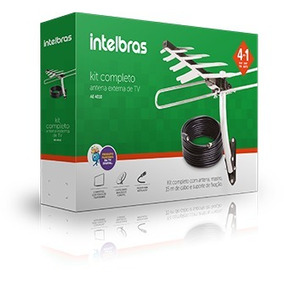 Kit De Antena Externa De Tv - Intelbras Ae 4010