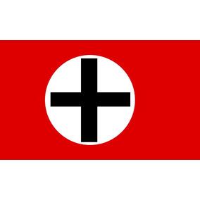 Bandeira Alemanha Segunda Guerra Mundial Reich Tradicional