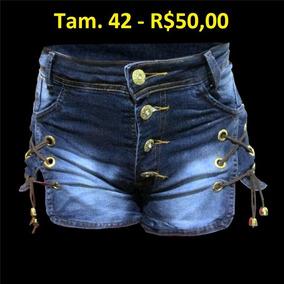 Short Jeans Feminino - Vl 06 - Vid4 Lok4