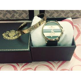 Set Reloj Con Pulsera Juicy Couture Original 100%