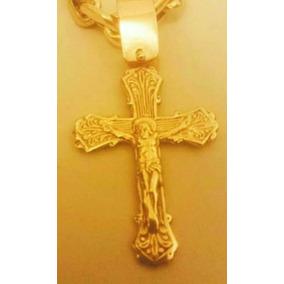 996ca0feff09f Lindo Pingente Crucifixo Em Ouro 6 Gramas - Pingentes no Mercado ...