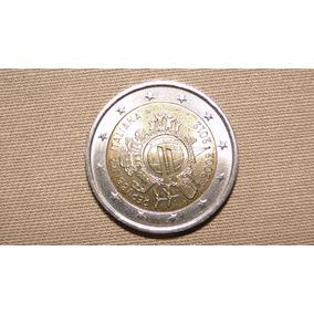Moeda Belíssima De Dois Euros Comemorativa Da Itália