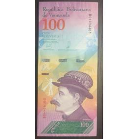 1/2 Bundle 50 Cédulas 100 Bolívares Soberanos 2018 - Fe