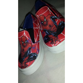 Zapato Deportivo Corte Bajo Para Niños De Spider Man