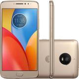 Motorola Moto E4 Plus 16gb Fine Gold+nota Fiscal