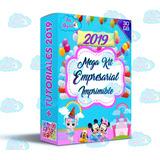 Kit Imprimible Empresarial Profesional+calendarios 2019