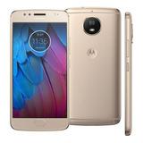 Motorola Moto G5s 32gb Tela 5.2 Dual 16mp 4gb Ram Smartphone