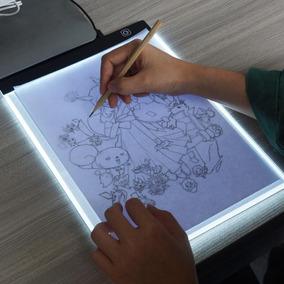 Mesa Desenho Tecnico A4 Led Prancheta De Desenho Iluminada