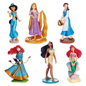 Kit 5 Miniaturas Princesas Disney