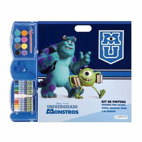 Briquedo Kit Pintura Monstros University Br061 Infantil Mult