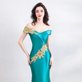 Vestido Fiesta Corte De Sirena Envio Gratis ! E-180720004