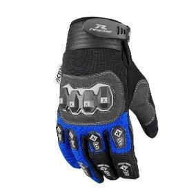 9645c6a8ba51c Guantes De Motociclismo Ride Azul negro Talla M Y Xl