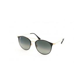 Oculos Sol Ray Ban Rb3546 187 71 Preto Dourado Cinza Degradë ... 3c3e38fdf5