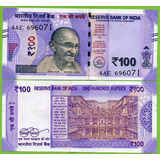Billete De India 100 Ruooes 2018 P-new Unc. Mlc