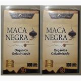 Promocion 2 Frascos Maca Negra Peruana Organica Fina Calidad