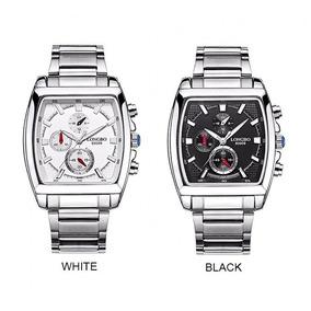 Relogio Feminino Modelo Novo Quadrado - Relógios De Pulso no Mercado ... 0c3aaa33ca