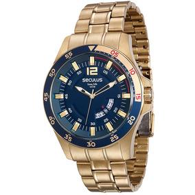 c2d43339a51 Relogio Seculus Caixa Grande Unissex - Relógios De Pulso no Mercado ...