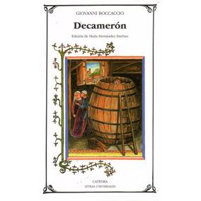 Libro: Decamerón ( Giovanni Bocaccio)