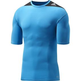 Camiseta Deportiva Adidas - Ropa Deportiva Azul en Mercado Libre México fe43dfe3acd79