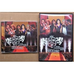Cd + Dvd Rbd - Tour Celestial 2007 En Espana - Duplo Rebelde