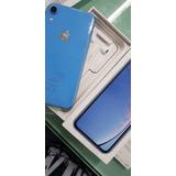 iPhone Xr 64gb Azul Novo