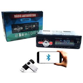 Som Radio Fm Usb Mp3 Pen Drive Cartão Memoria Sd Bluetooth