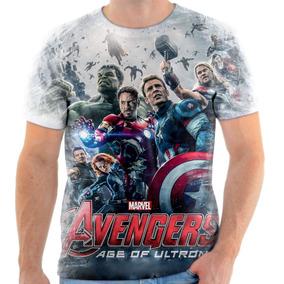 Kit Camisas Personalizadas Familia Vingadores - Calçados cde6146bfda0f