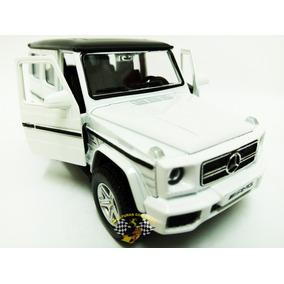 Miniatura Mercedes Benz G63 Amg Branco 1/32 Rmzcity