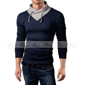 Blusa Masculina Manga Longa Camiseta Manga Comprida Frio