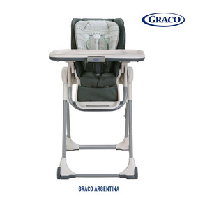 Silla De Comer Bebe Graco Swift Fold Plegable Alturas Ruedas
