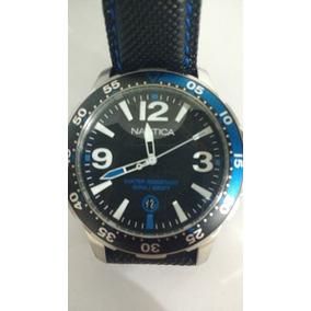 a502b250f93 Relógio Nautica N19509g(azul) N19508(preto) - Relógios no Mercado ...