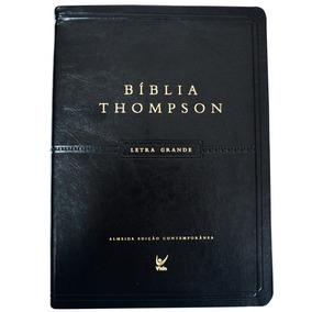 Bíblia Thompson Letra Grande / Capa Preta