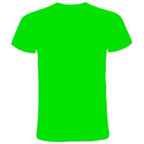 e674f3e0d Remera Fluor Hombre Verde Y Amarillo - Remeras Manga Corta de Hombre ...