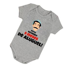 Body Bebê Seu Madruga Devo 9 Meses De Aluguel Bori B371cz