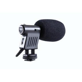 Microfono Direccional Dsrl Video C/ Zapata Vm01 Canon Nikon