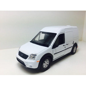 Miniatura Ford Transit Connect Branca 1/43 Welly
