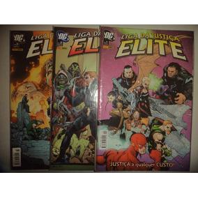 Liga Da Justiça Elite 1 2 3 Completa Panini 2006 Excelente
