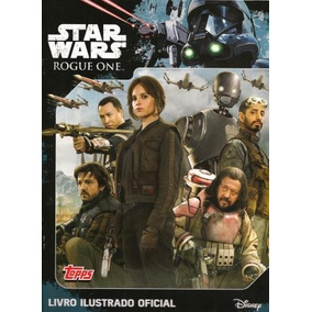 Pasta Star Wars Rogue One Mais 40 Pacotes Cards Lacrados