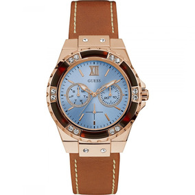 d4bdfbe2c9762 Relogio Guess Feminino Couro Marrom - Relógios De Pulso no Mercado ...
