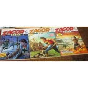 Zagor Extra N° 1 A 123 Ed. Mythos Coleção Completa