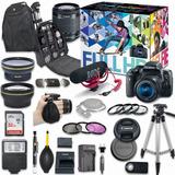 Canon Eos Rebel T6i Kit De Video 18-55mm (am)