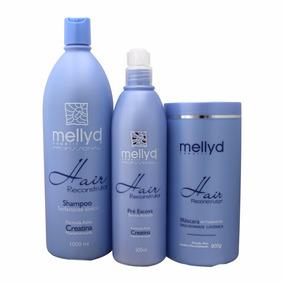 Mellyd Capelli Tratamento Hair Reconstrutor - 3 Produtos