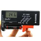 D-fantix Batería Digital Tester Batería Checker Para Aa Aaa
