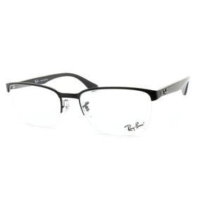 827eee25c2 Armação Óculos De Grau Ray-ban Masculino Rb6395l 2503 55